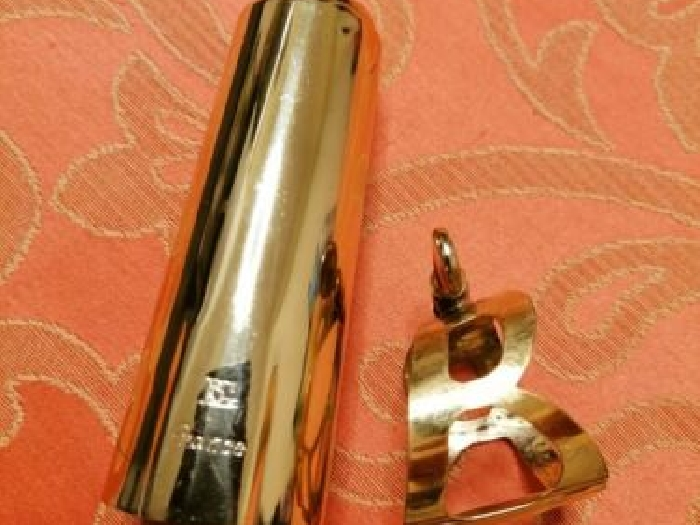 BG Standard cap and ligature for tenor saxophone(suitable for hard rubber model)