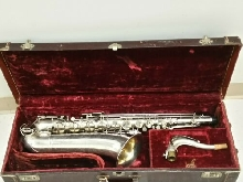 The Martin Tenor Sax 1951 Silver Plate - White Roo Pads - Mint!