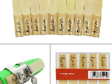 10pcs force 2.5 Reed 2-1/2 bambou anches pour Clarinette sib traditionnel E3Q9