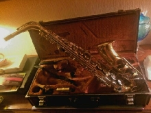 YAMAHA YAS-32F Alto Sax Saxophone Playing condition  with case  bec selmer s90