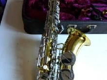 saxophone alto vintage avec etui made in tchecoslovaquie BE