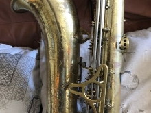 King Super 20 tenor saxophone Sterling Neck Full Pearl