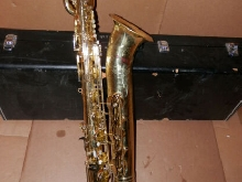 Yamaha Japan Model YBS 61 Low A Bari Sax Baritone Saxophone!