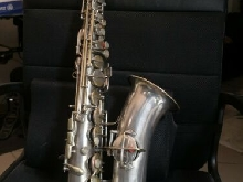 Saxophone conn chu berry silver new pads