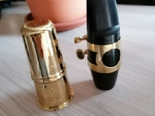 90's Selmer S90-180 hard rubber alto saxophone mouthpiece never refaced, Sax bec